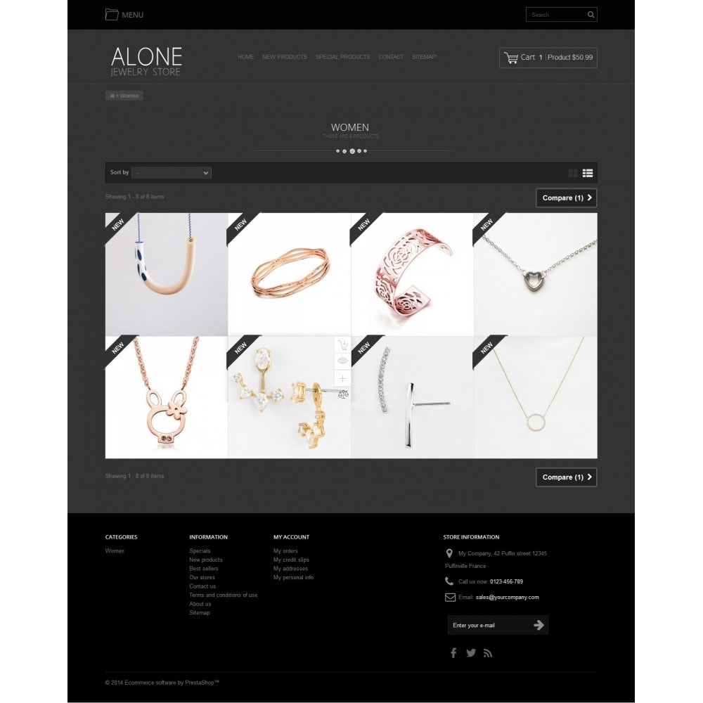 Alone Jewelry