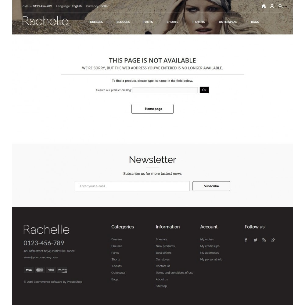theme - Moda & Calzature - Rachelle Fashion Store - 9
