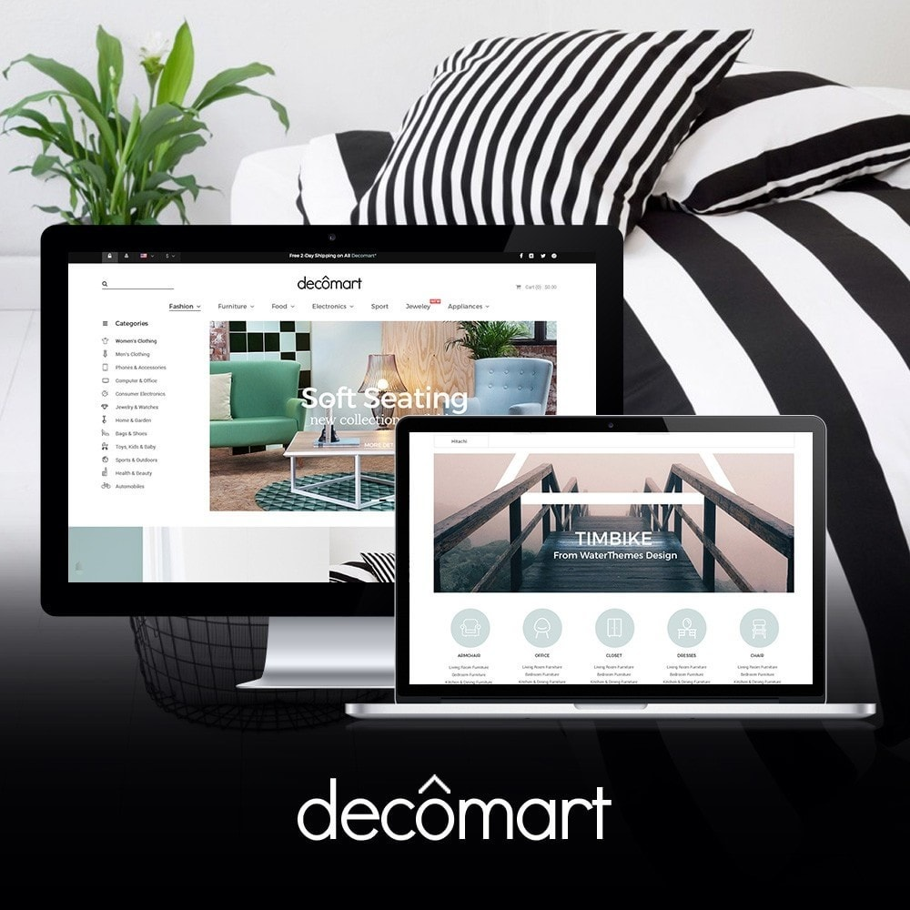 theme - Дом и сад - Decomart - Furniture Store - 1