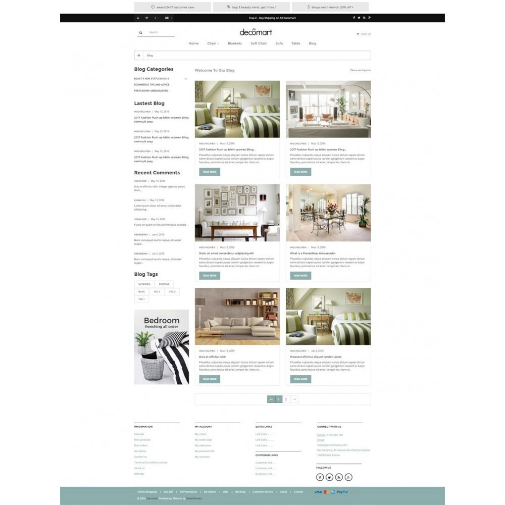 theme - Casa & Jardins - Decomart - Furniture Store - 6