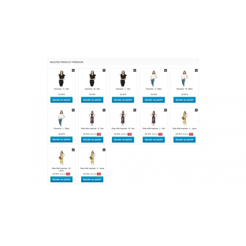 module - Ventes croisées & Packs de produits - Produits liés / Complémentaires Premium + BuyBox. - 7