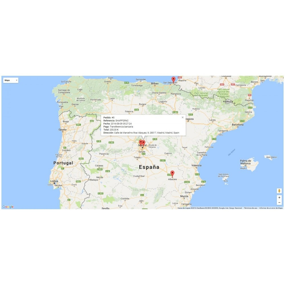 module - Internacional & Localização - Orders Location Map - 1