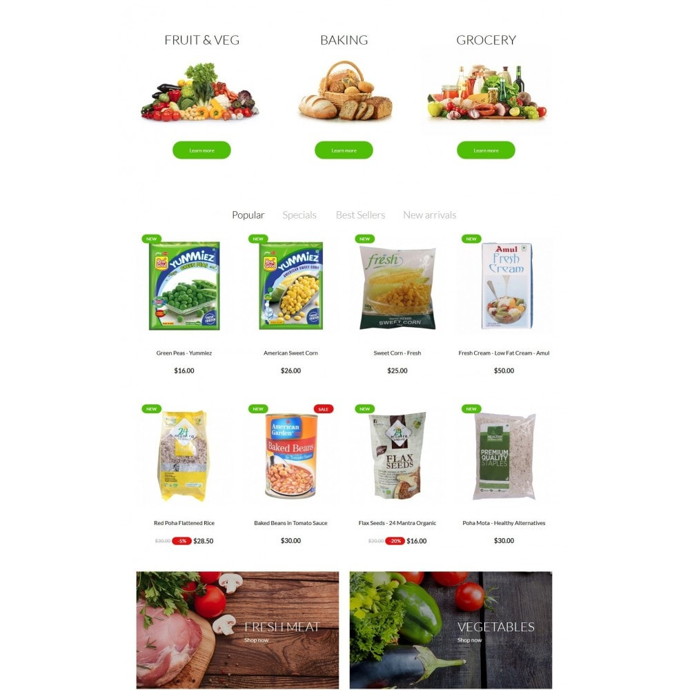 theme - Alimentation & Restauration - Real Food Store - 3