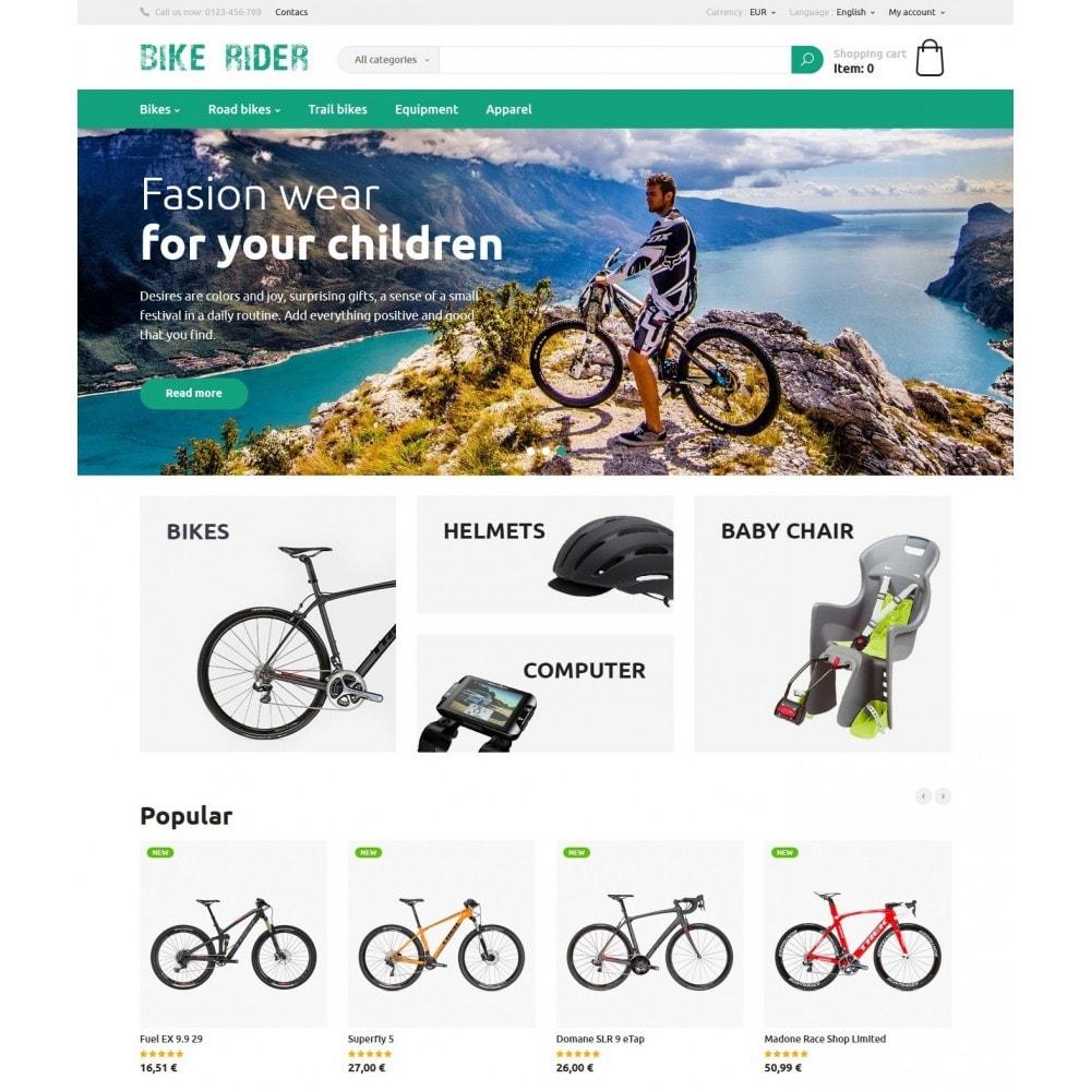 theme - Спорт и Путешествия - Bike Rider Store - 2