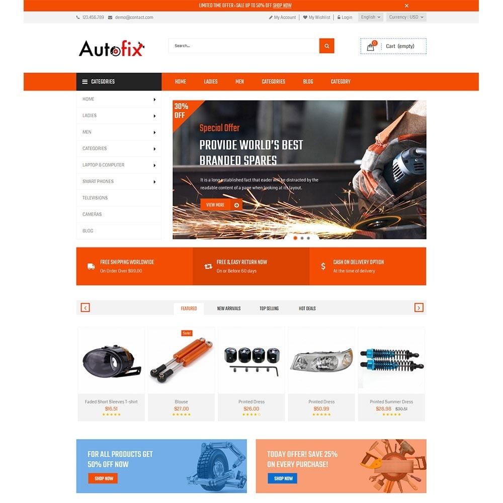 theme - Coches y Motos - Autofix Car Store - 2