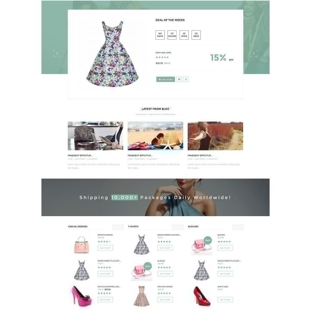 theme - Moda y Calzado - Dressshop Fashion Store - 3