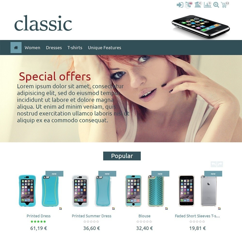 theme - Elettronica & High Tech - Classic - 2