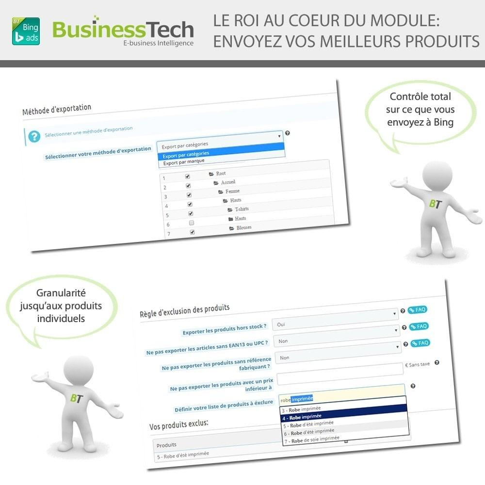 module - Référencement payant (SEA SEM) & Affiliation - Bing Merchant Center pour Bing Product Ads - 4
