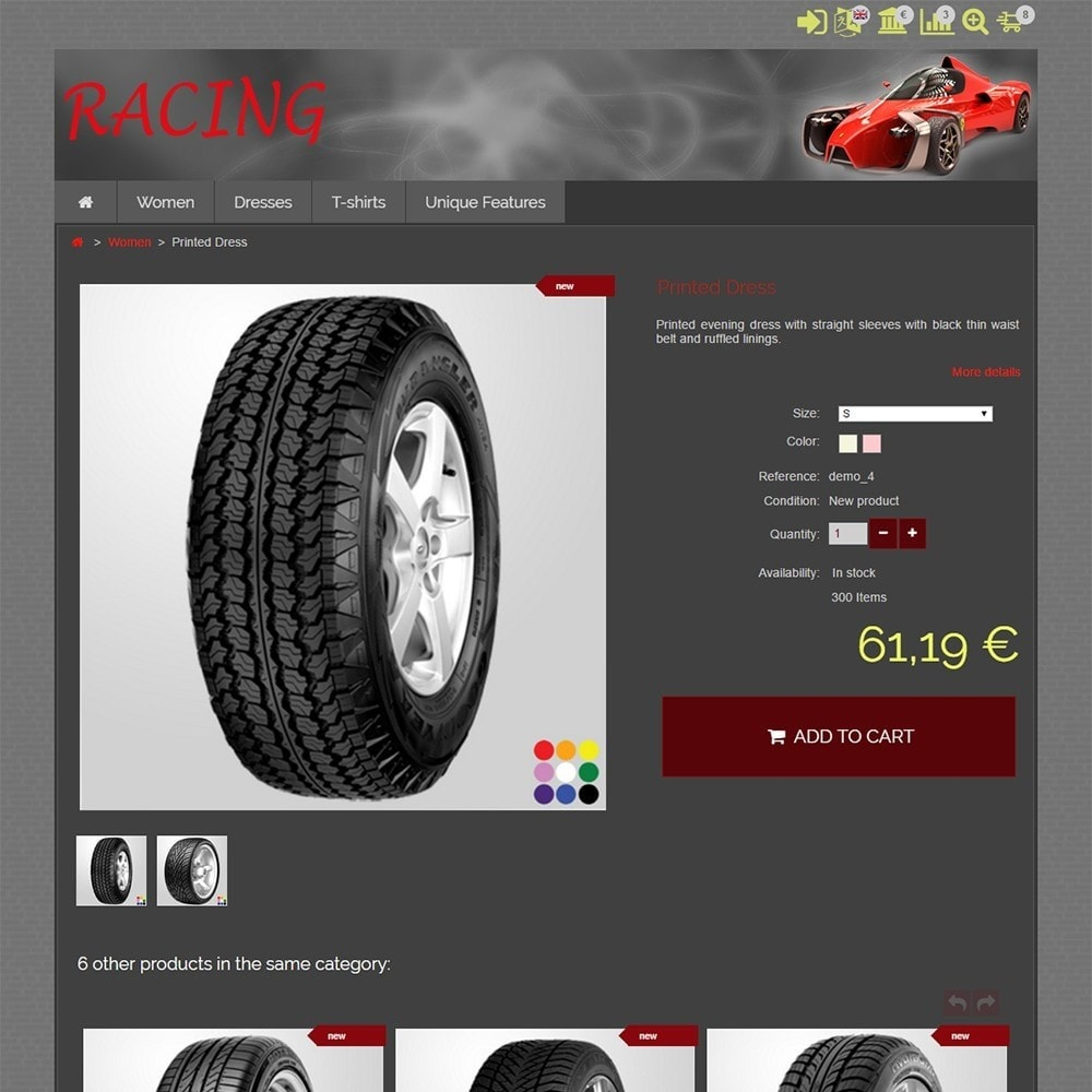theme - Coches y Motos - Racing - 4