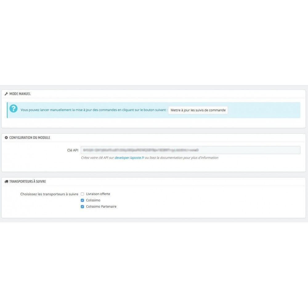 module - Sendungsverfolgung - La Poste Suivi de livraison - 1