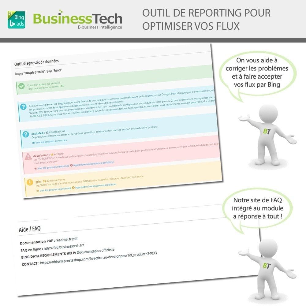 module - Référencement payant (SEA SEM) & Affiliation - Bing Merchant Center pour Bing Product Ads - 7