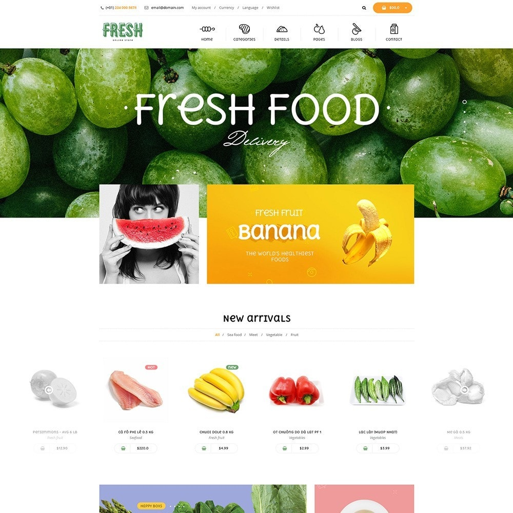 theme - Lebensmittel & Restaurants - Pts Fresh - 6