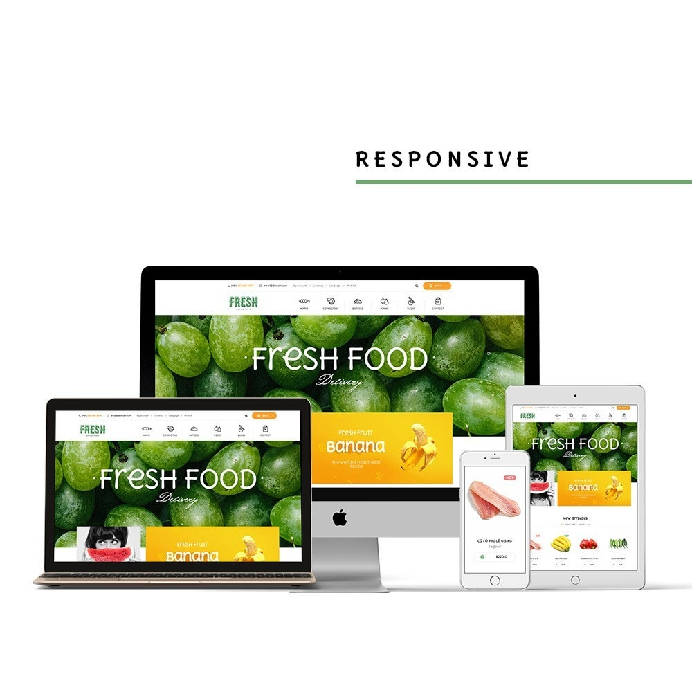 theme - Lebensmittel & Restaurants - Pts Fresh - 2