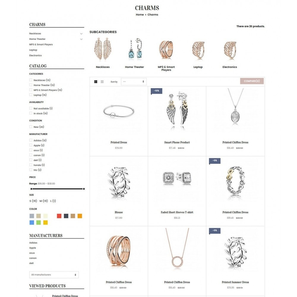 theme - Bellezza & Gioielli - Water Jewelry & Accessories - 5