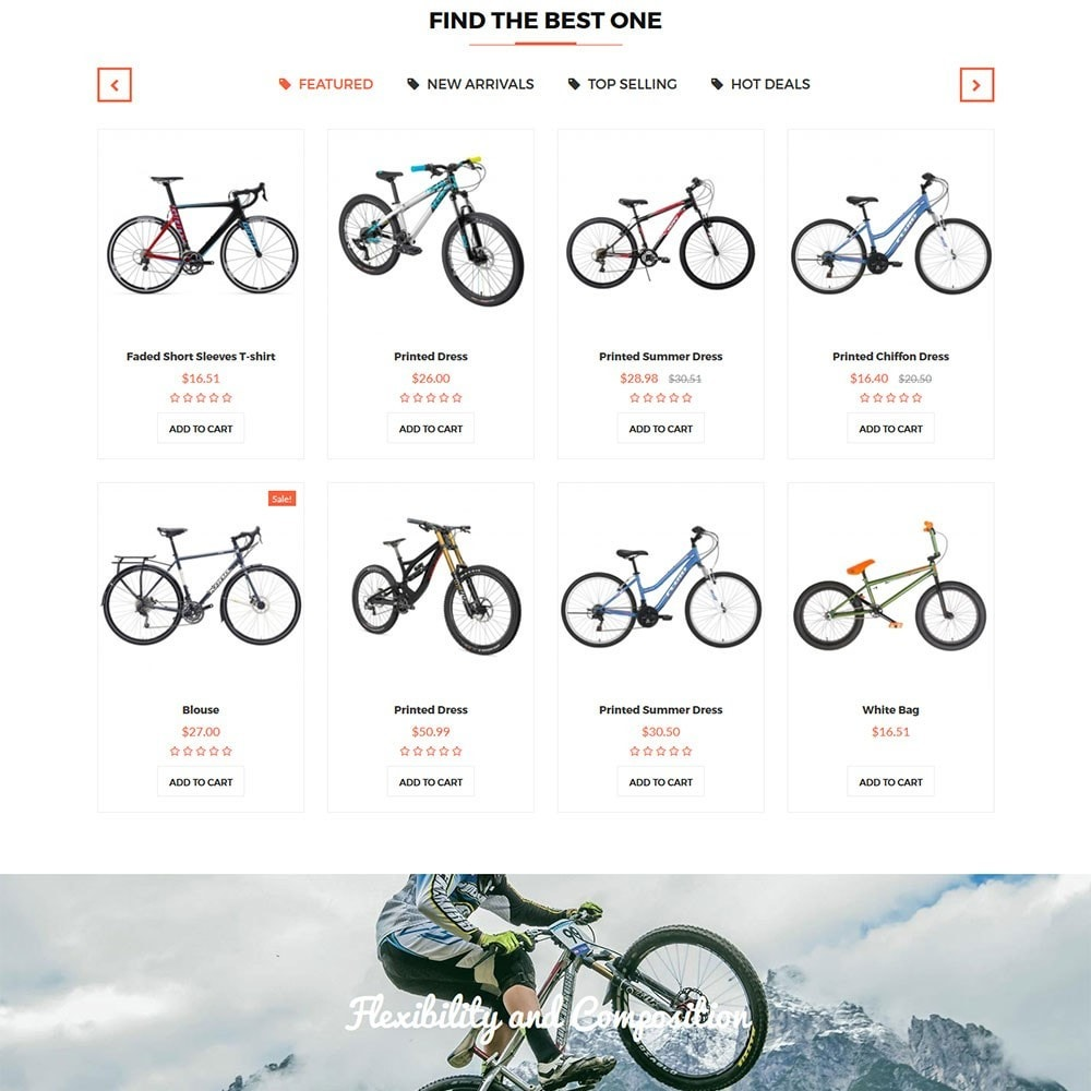 Citybikes Sport Gear