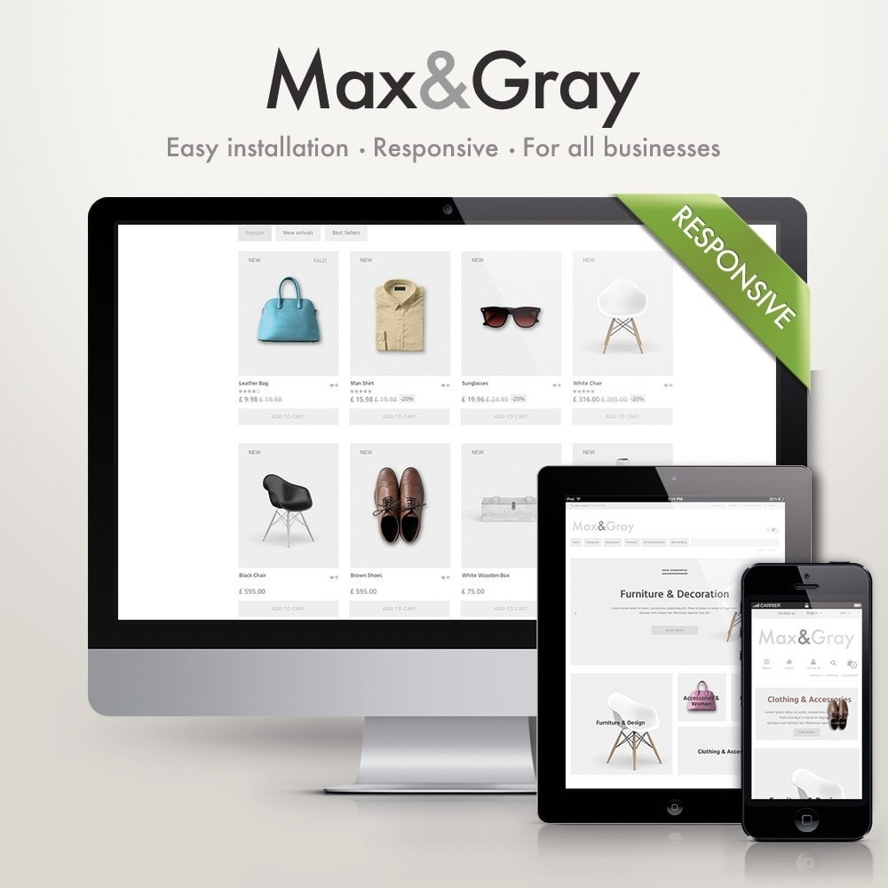 theme - Fashion & Shoes - Max&Gray - 1