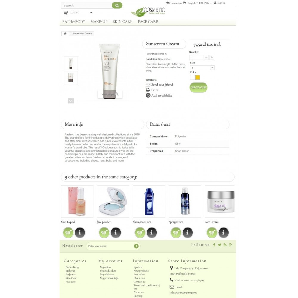 theme - Health & Beauty - Cosmetic - 4