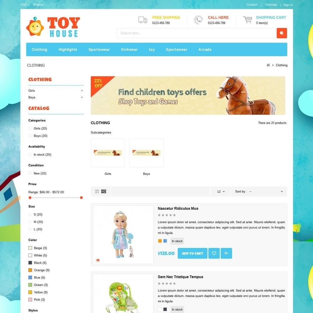 Toy House Store