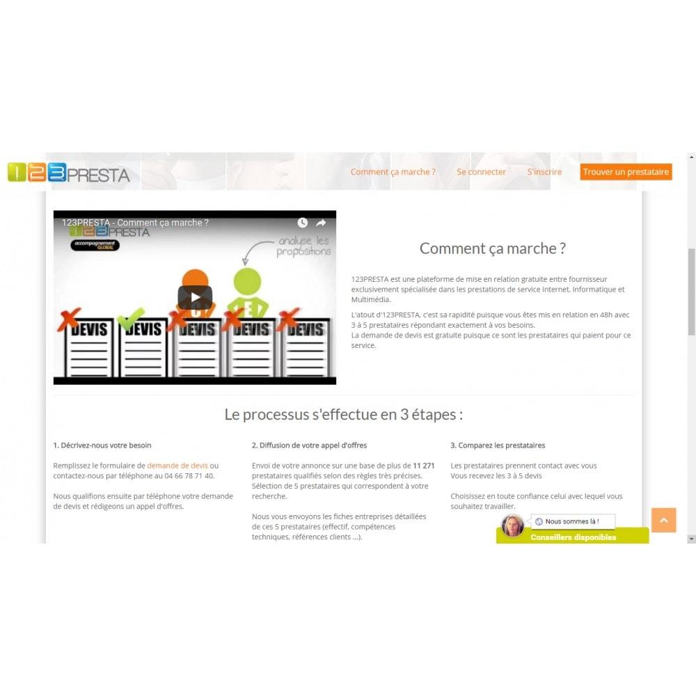 service - Natif - Un devis pour votre projet de boutique PrestaShop - 123Presta - 2