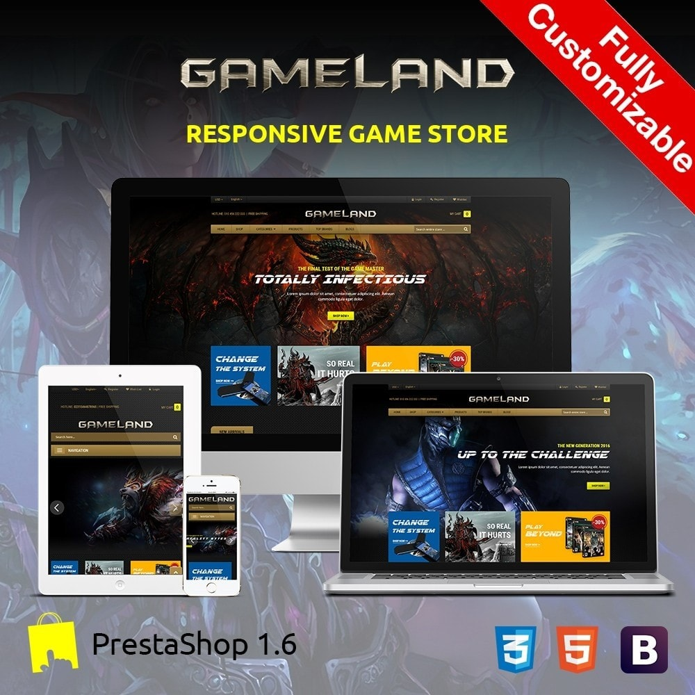 theme - Sports, Activities & Travel - GAMESTORE |  Responsive GameWorld - 1