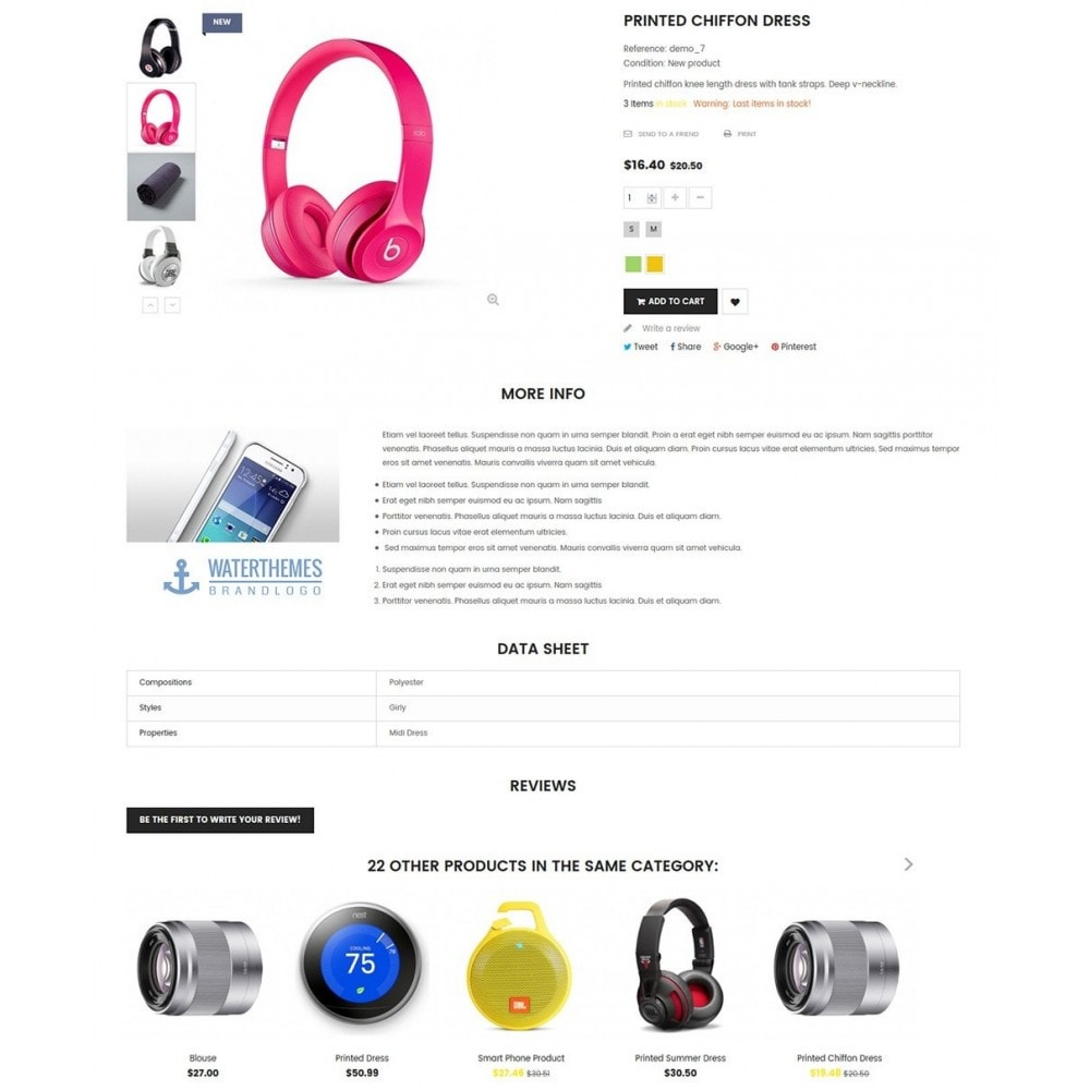 theme - Elettronica & High Tech - Water Electronic Store - 6