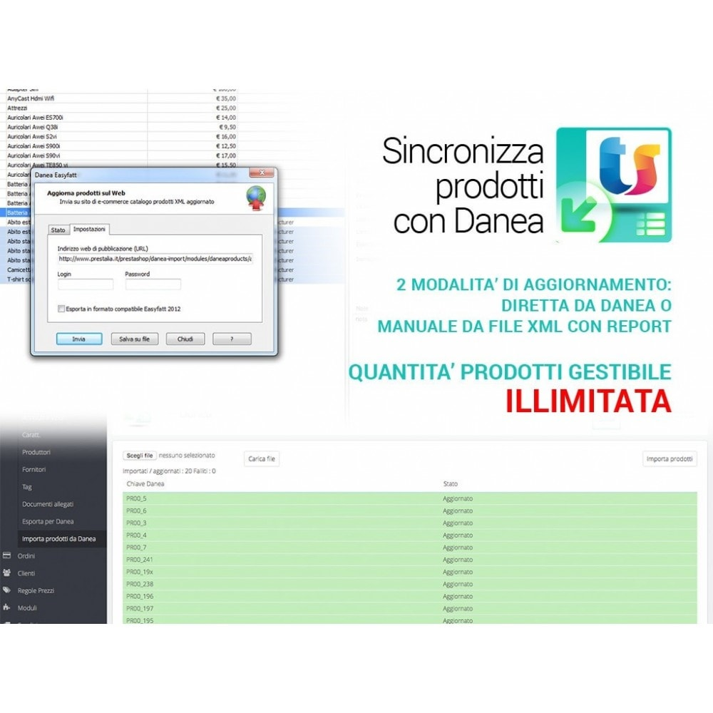 module - Data Import & Export - Importa prodotti da Danea Easyfatt a Prestashop - 5