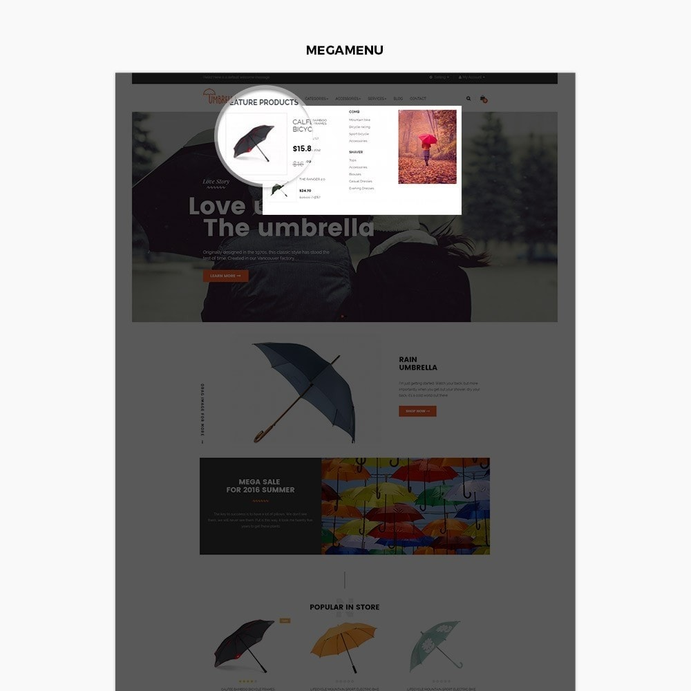 theme - Moda & Calzature - Leo Umbrella - 5