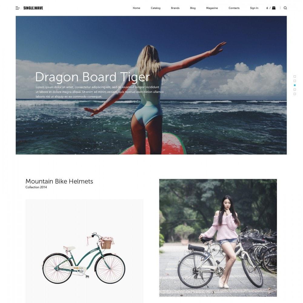 theme - Sport, Loisirs & Voyage - Onewave - Sport Boutique - 2