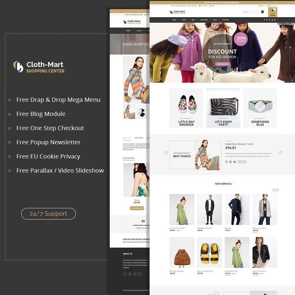 ClothMart Fashion Store