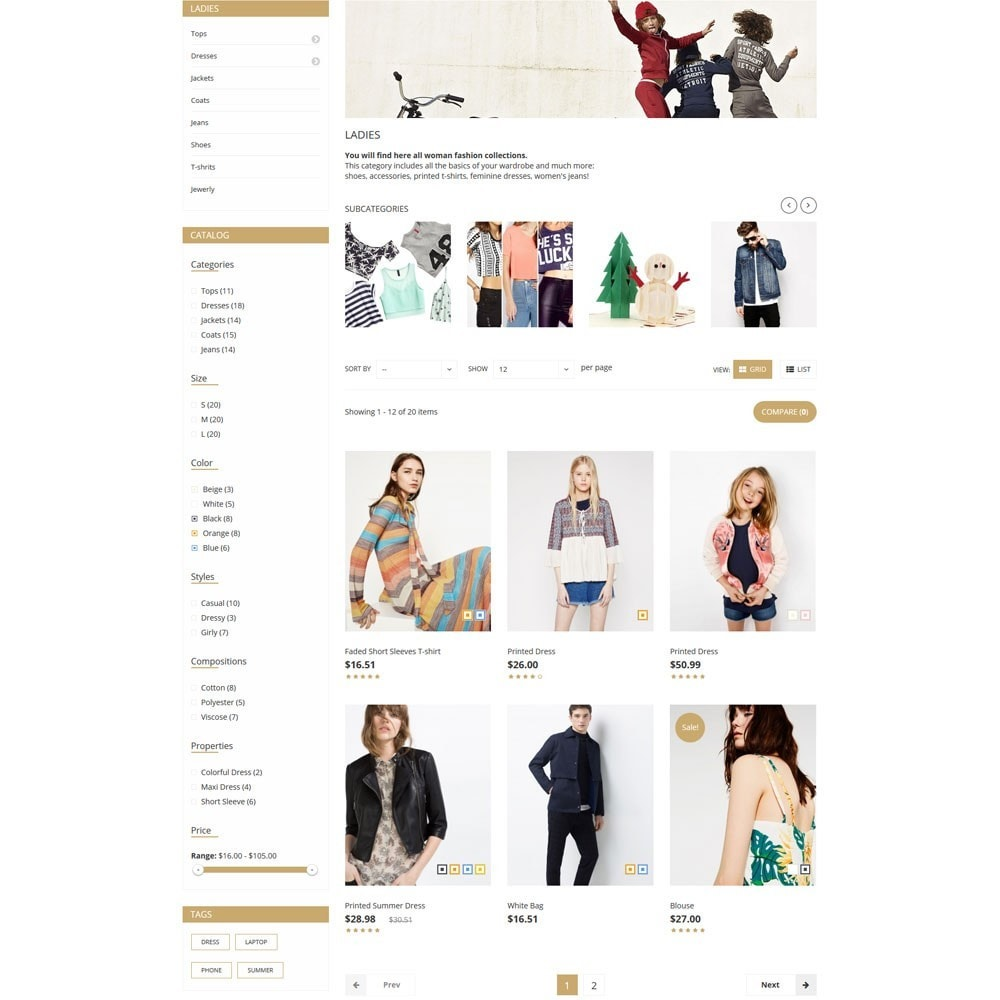 theme - Moda & Calzature - ClothMart Fashion Store - 6