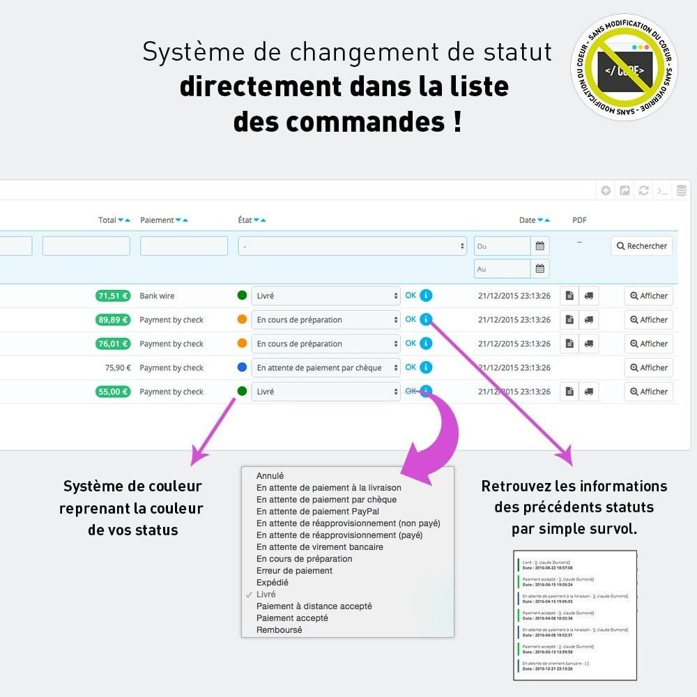 module - Edition rapide & Edition de masse - Édition d'état en masse + infos des commandes au survol - 2