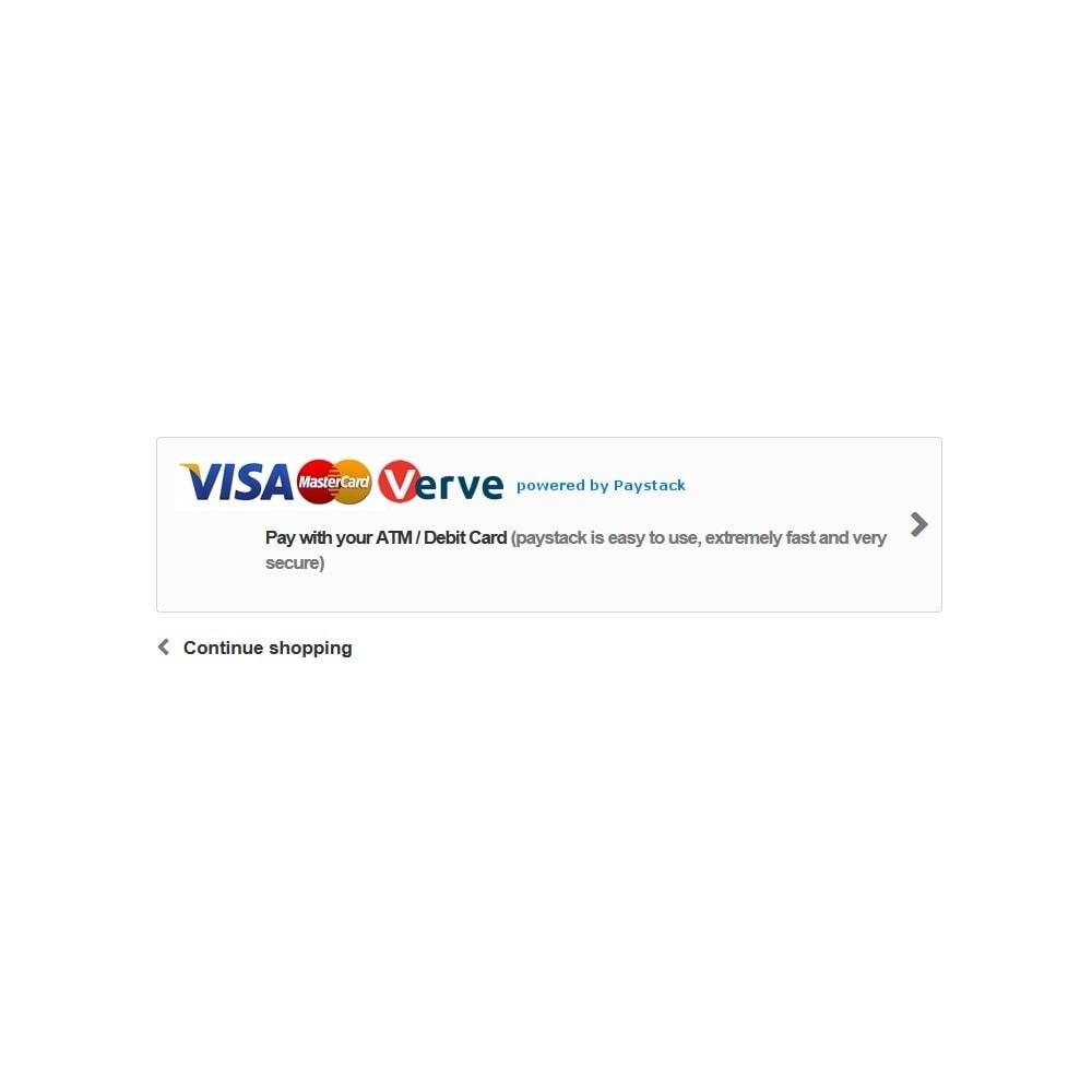 module - Оплата банковской картой или с помощью электронного кошелька - Paystack - 3