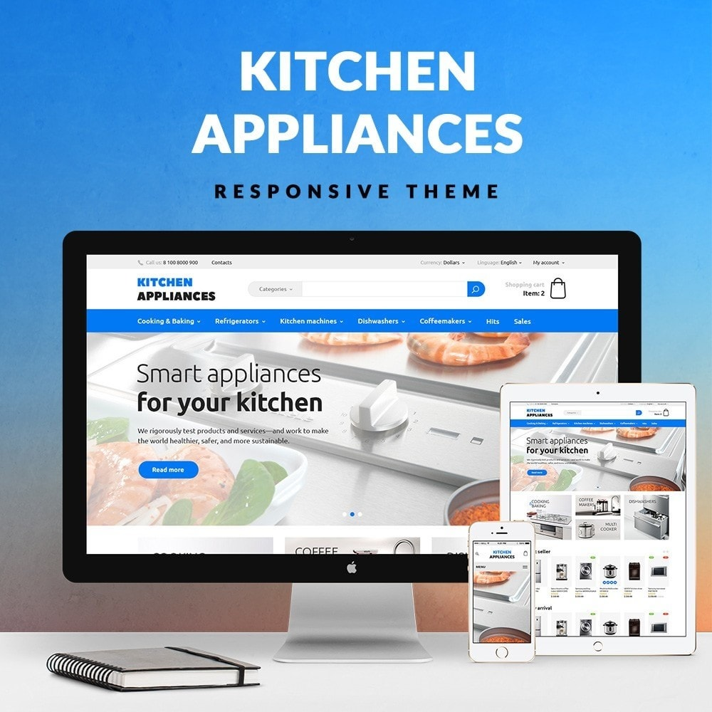 theme - Dom & Ogród - Kitchen Appliances - 1