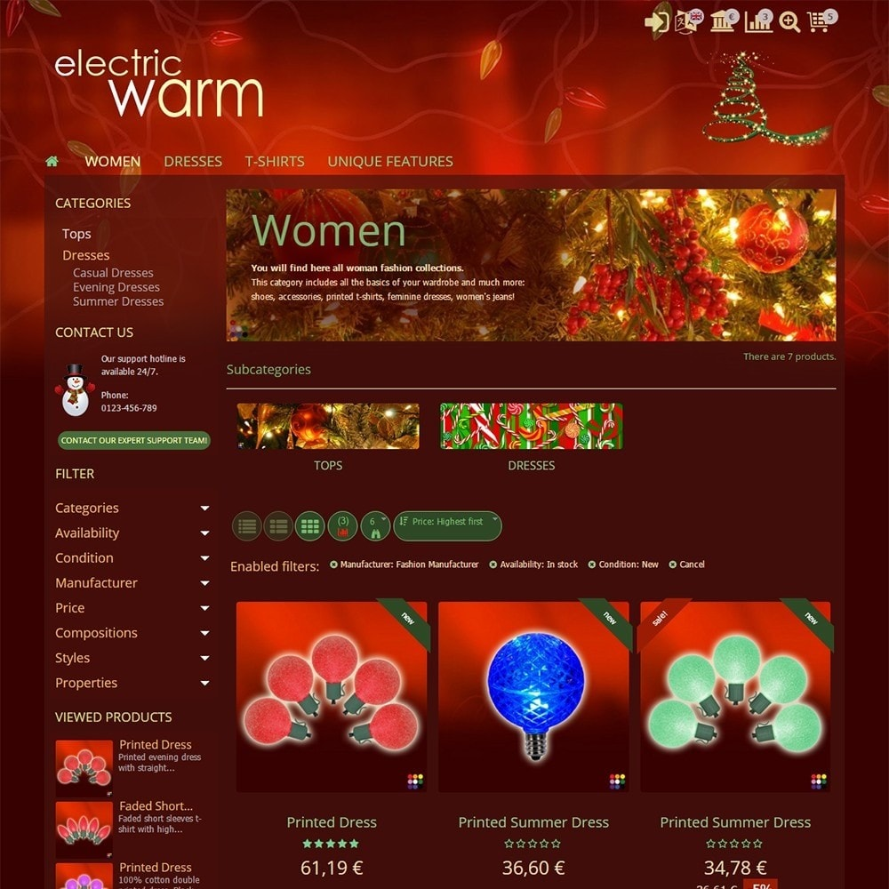 theme - Eletrônicos & High Tech - Electric Warm - 3