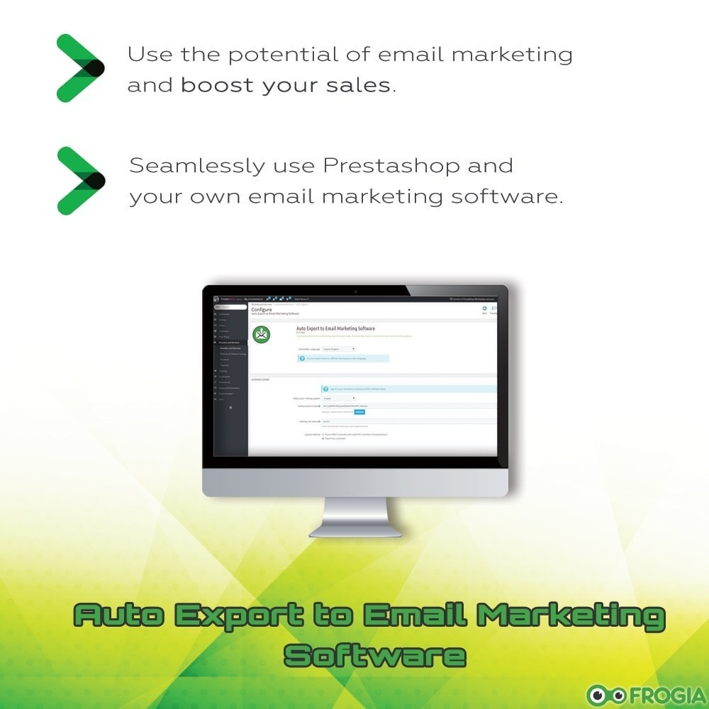 module - Email & Notifiche - Auto Export to Email Marketing Software - 1