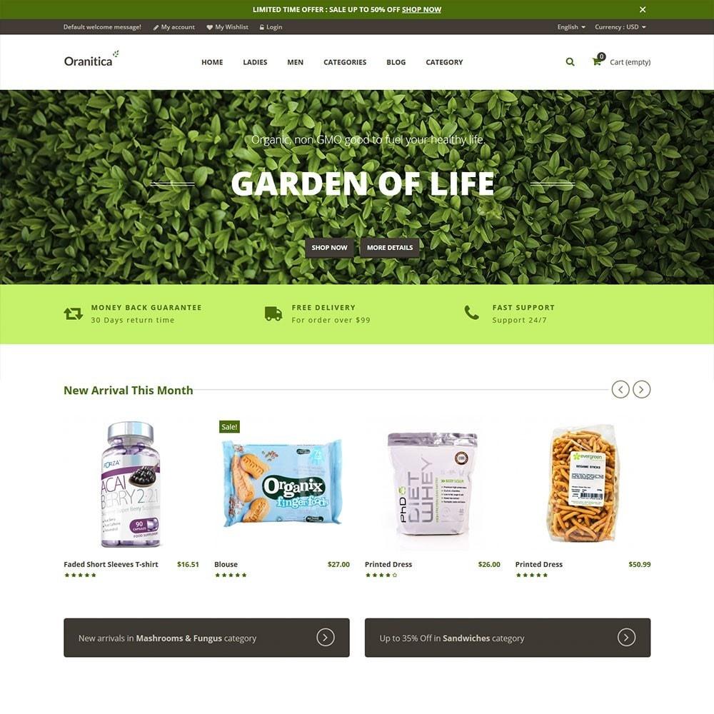 theme - Gezondheid & Schoonheid - Oranitica Health Store - 2