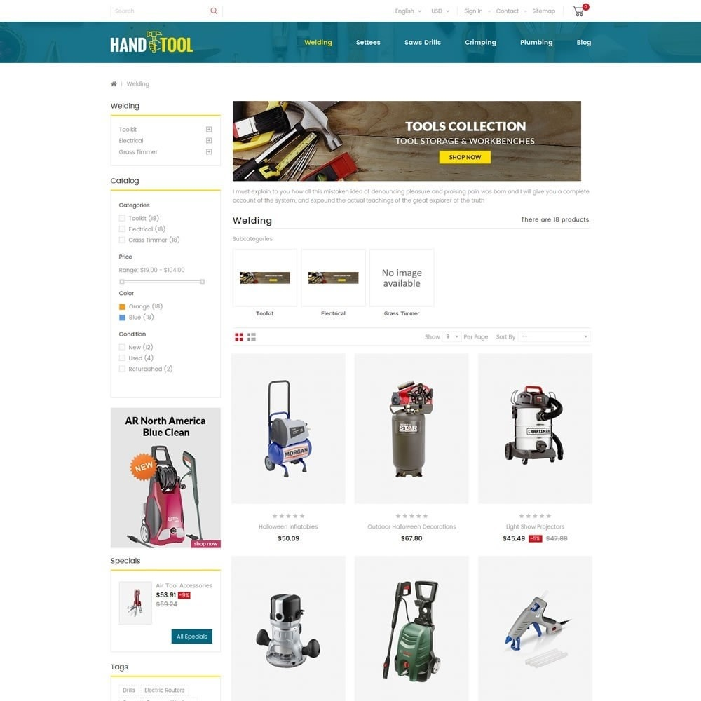 theme - Automotive & Cars - Hand Tools Store - 3