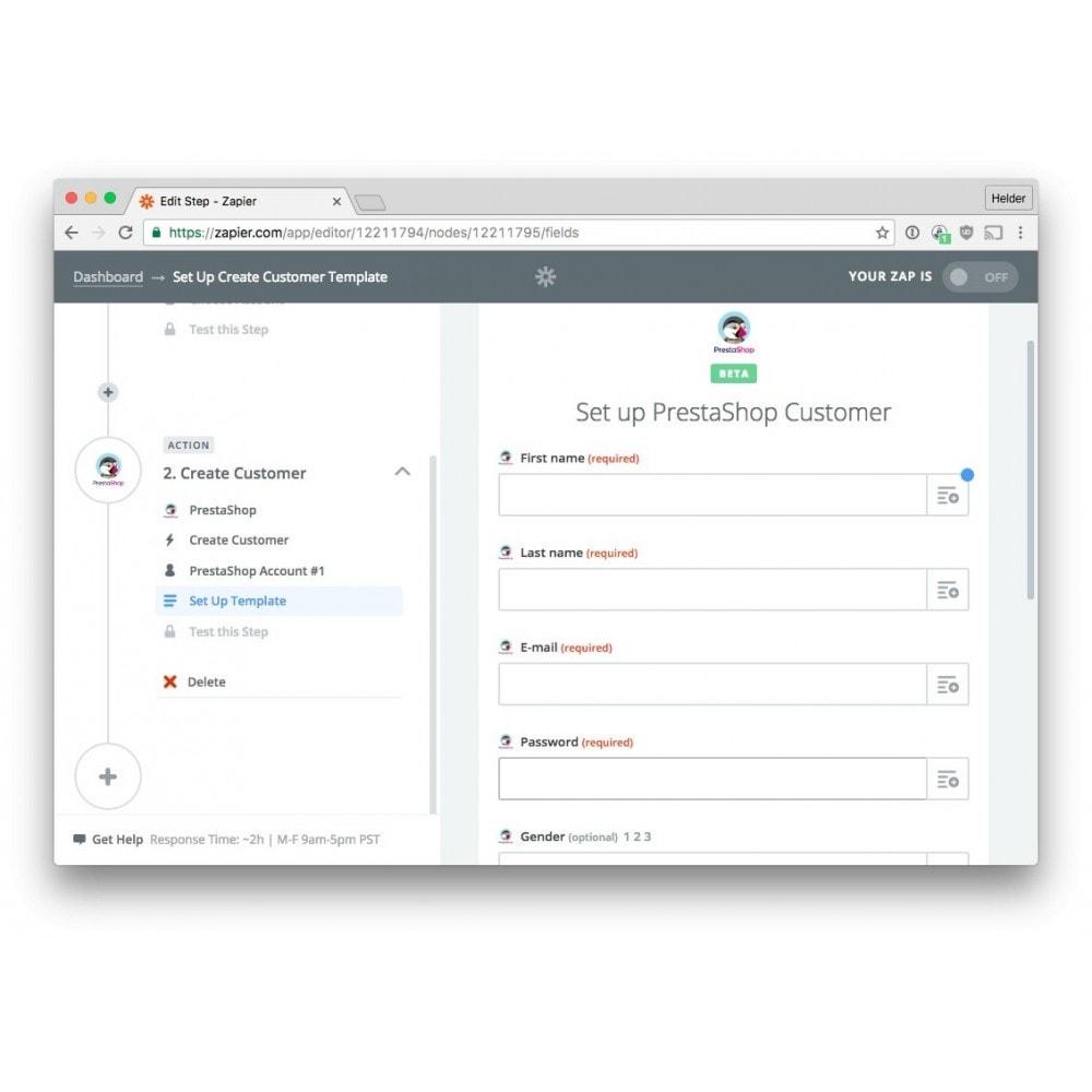 module - Conexão com software de terceiros (CRM, ERP...) - Zapier Integration - 3