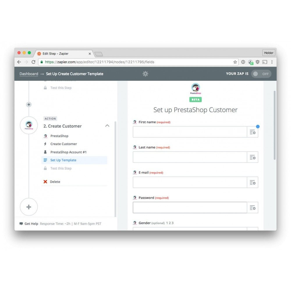 module - Data Integraties (CRM, ERP...) - Zapier Integration - 5