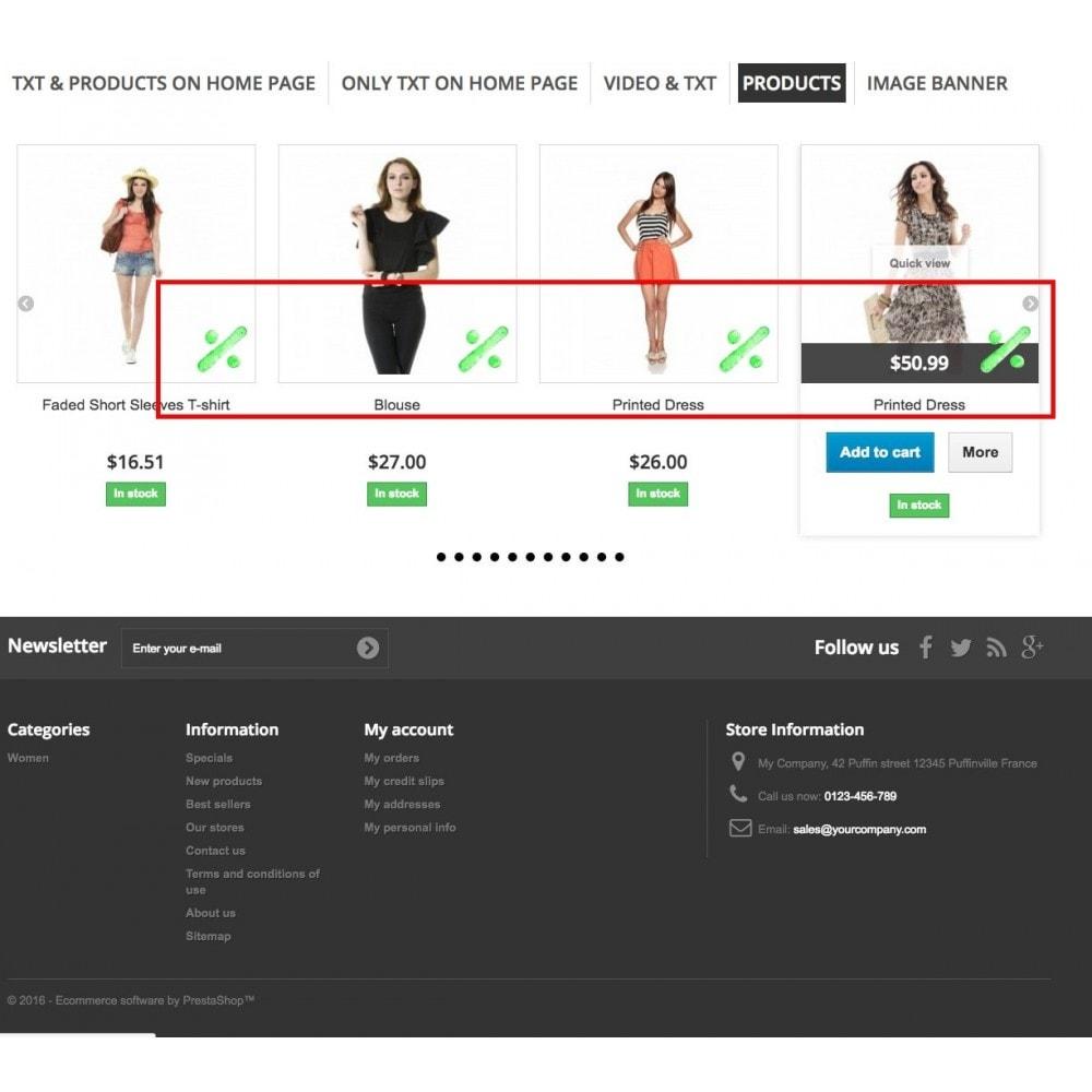 module - Bloki, Zakładki & Banery - Promo Tabs - 9