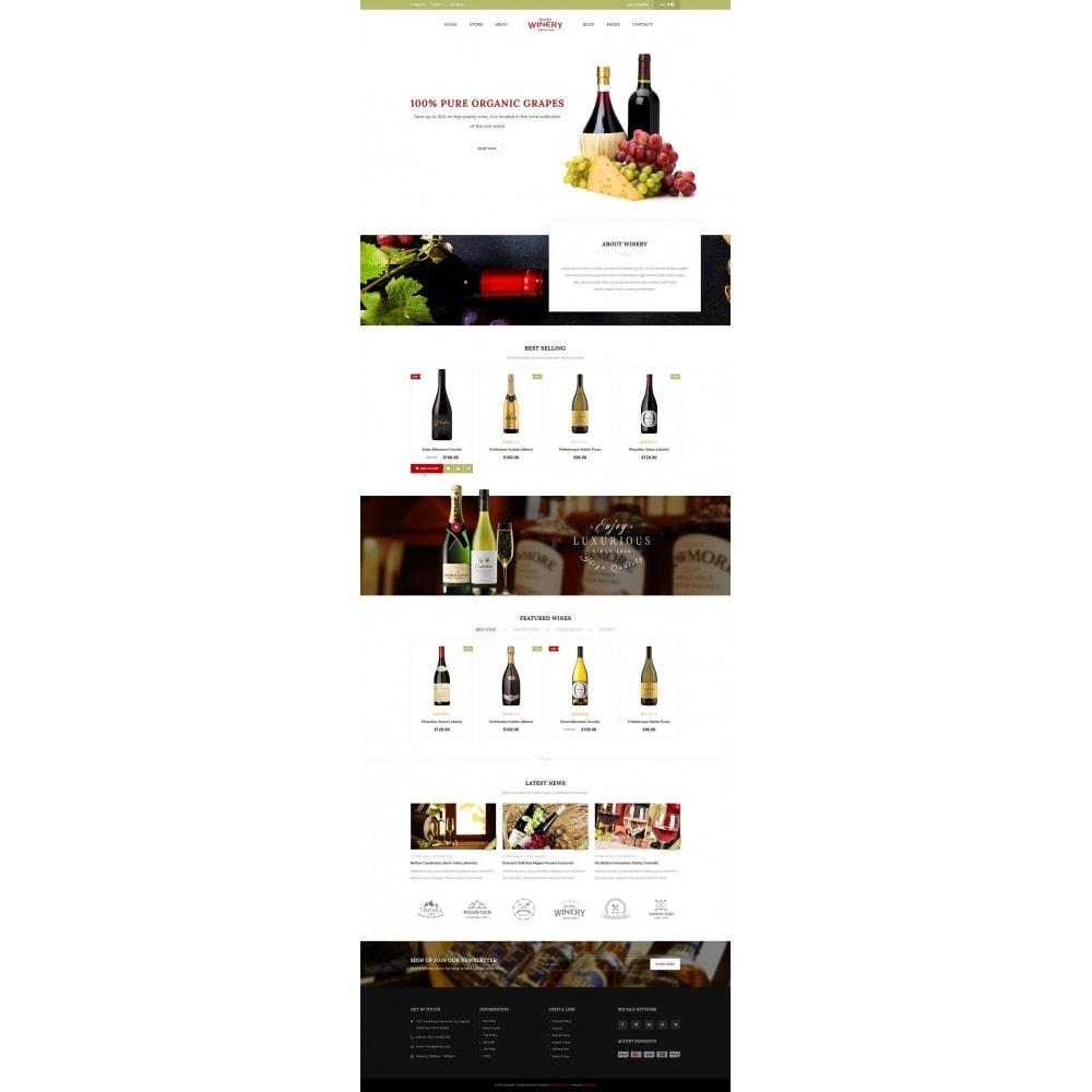 theme - Продовольствие и рестораны - JMS Winery - 7