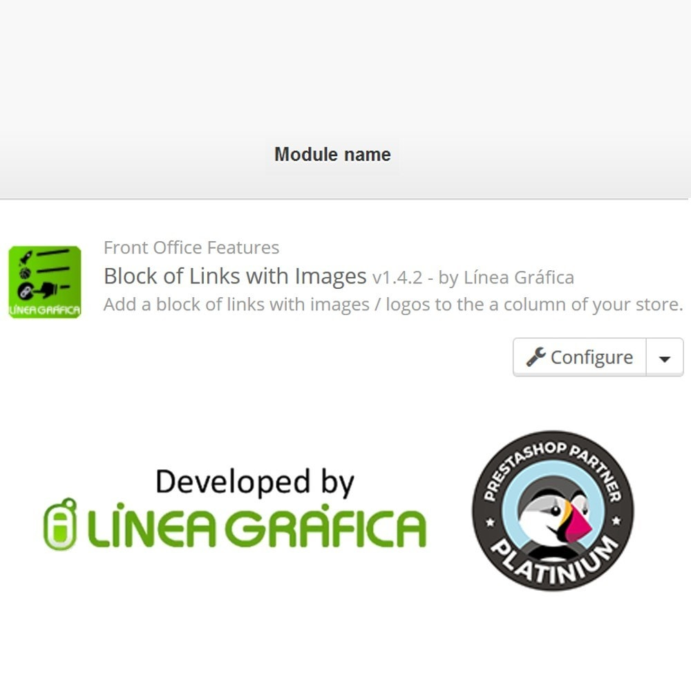 module - Blocchi, Schede & Banner - Block of Links with Images - 8