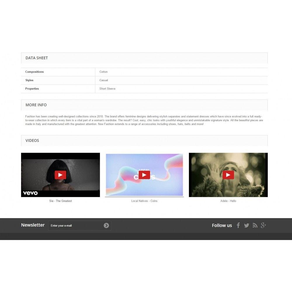 module - Vidéo & Musique - Ultimes vidéos de produits (YouTube, Vimeo, et plus) - 3
