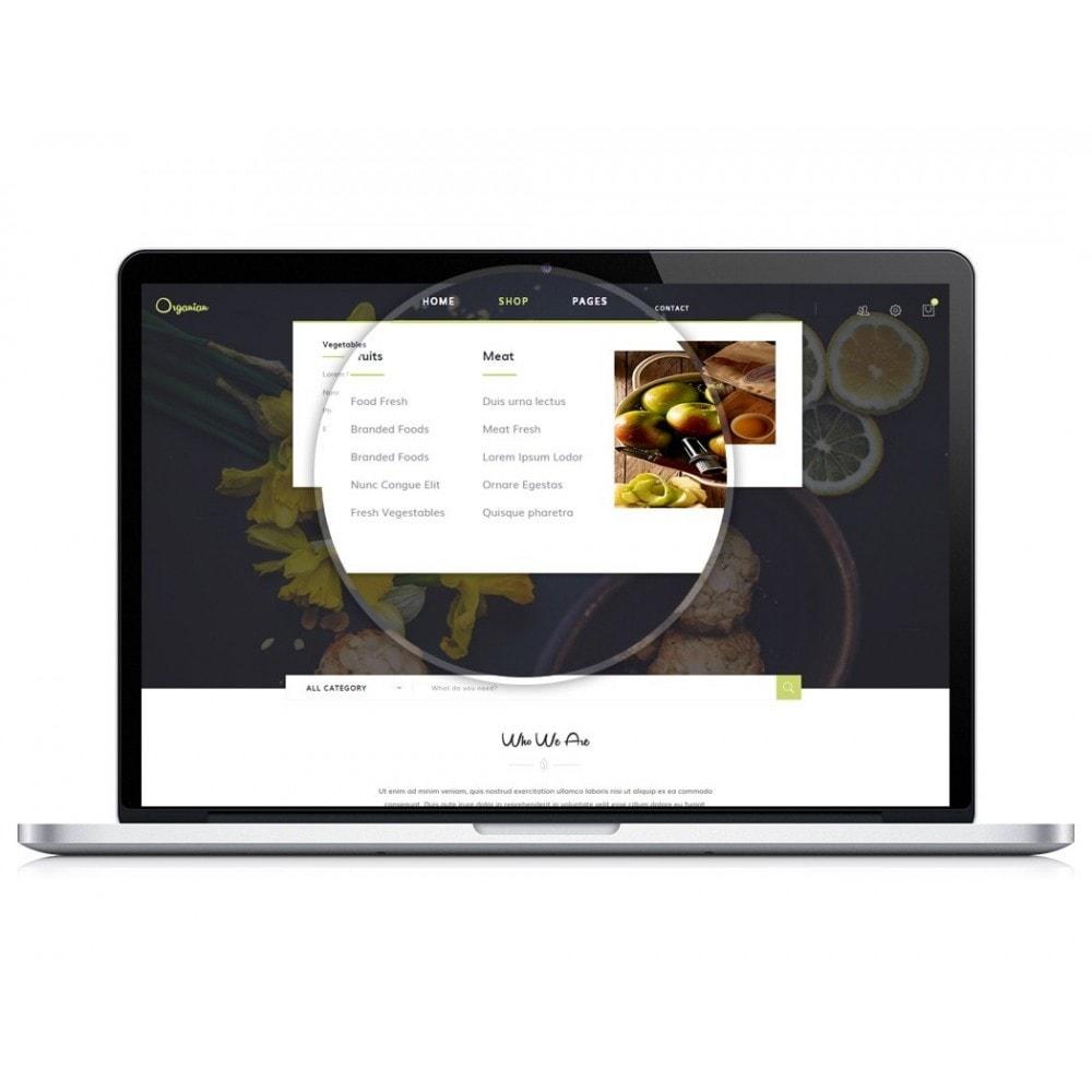 theme - Food & Restaurant - JMS Organian - 2