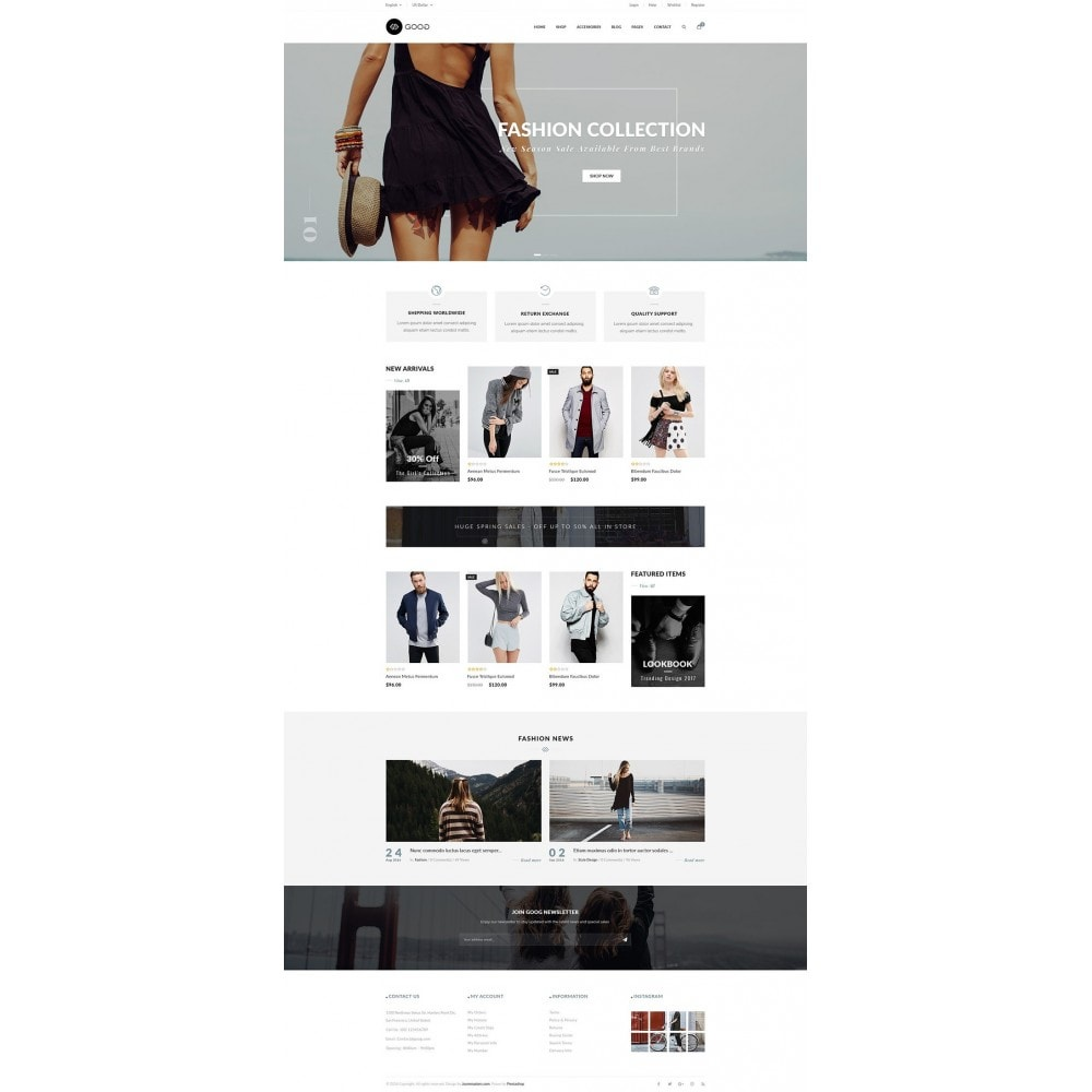 theme - Moda & Obuwie - JMS Goog - 9
