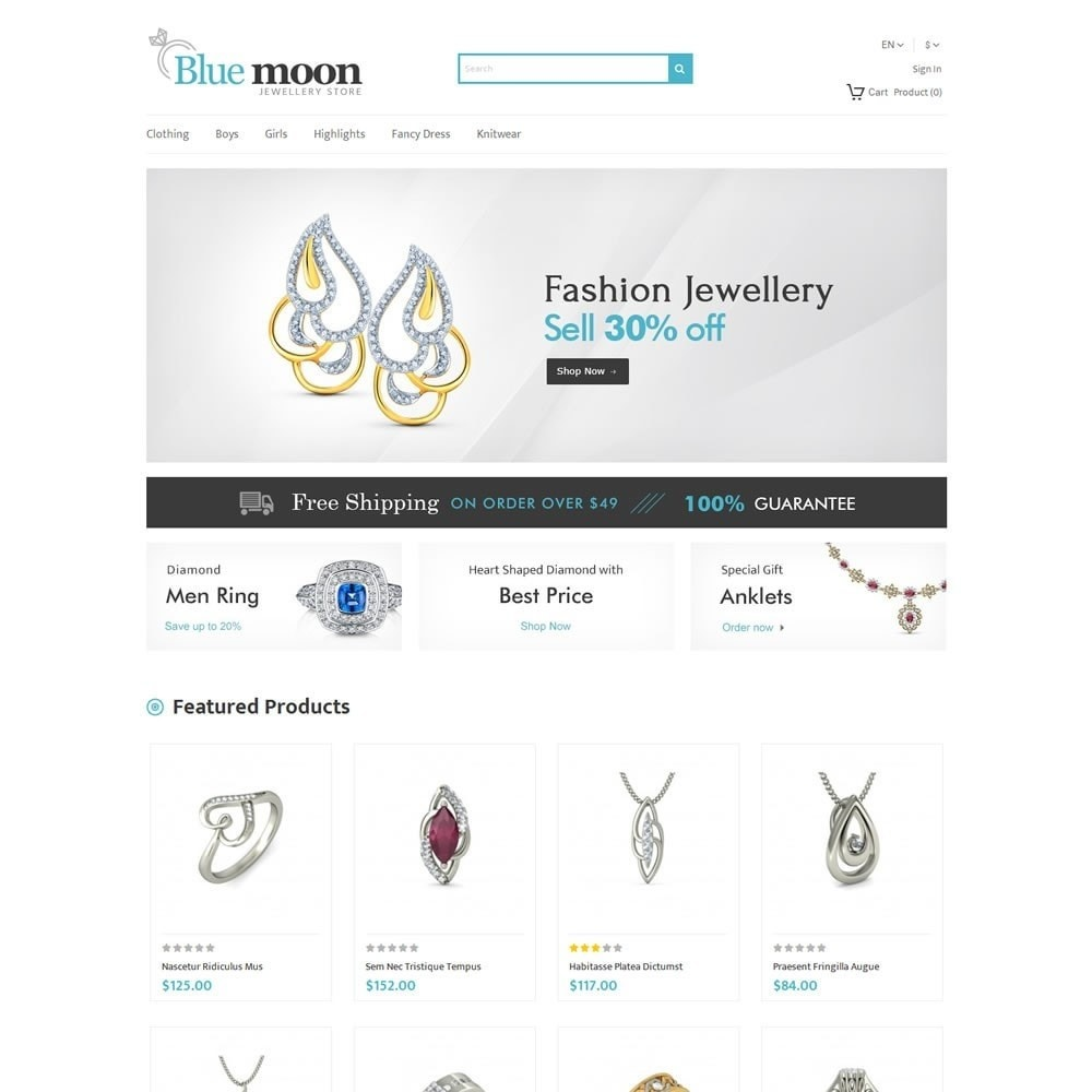 Blue Moone - Jewellry Store