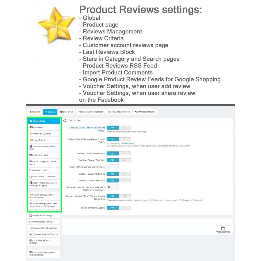 module - Opinie klientów - Product Reviews Advanced PRO + Reminder + User Profile - 28