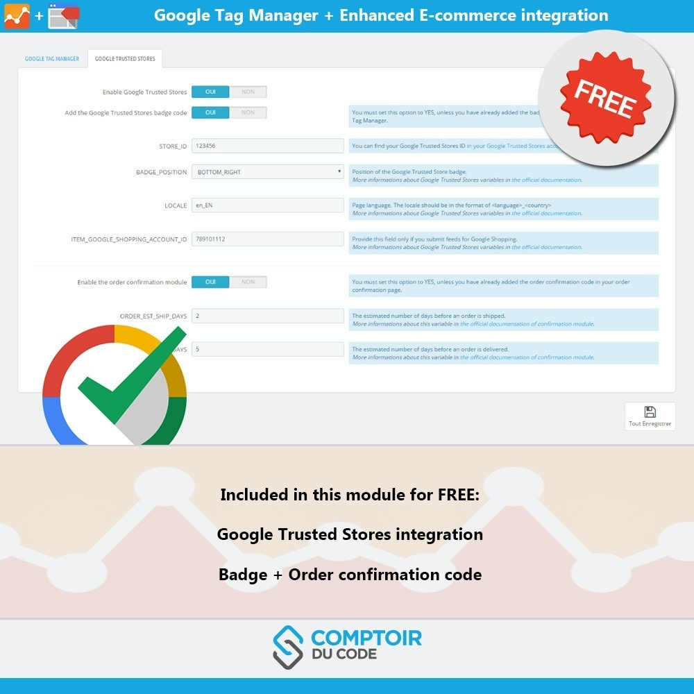 module - Informes y Estadísticas - Google Tag Manager Enhanced Ecommerce (UA) - PRO - 9