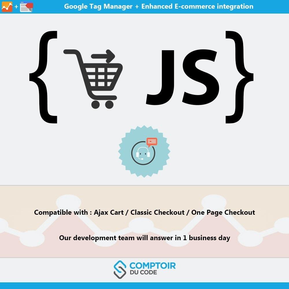module - Analyses & Statistiques - Google Tag Manager Enhanced Ecommerce (UA) - PRO - 7