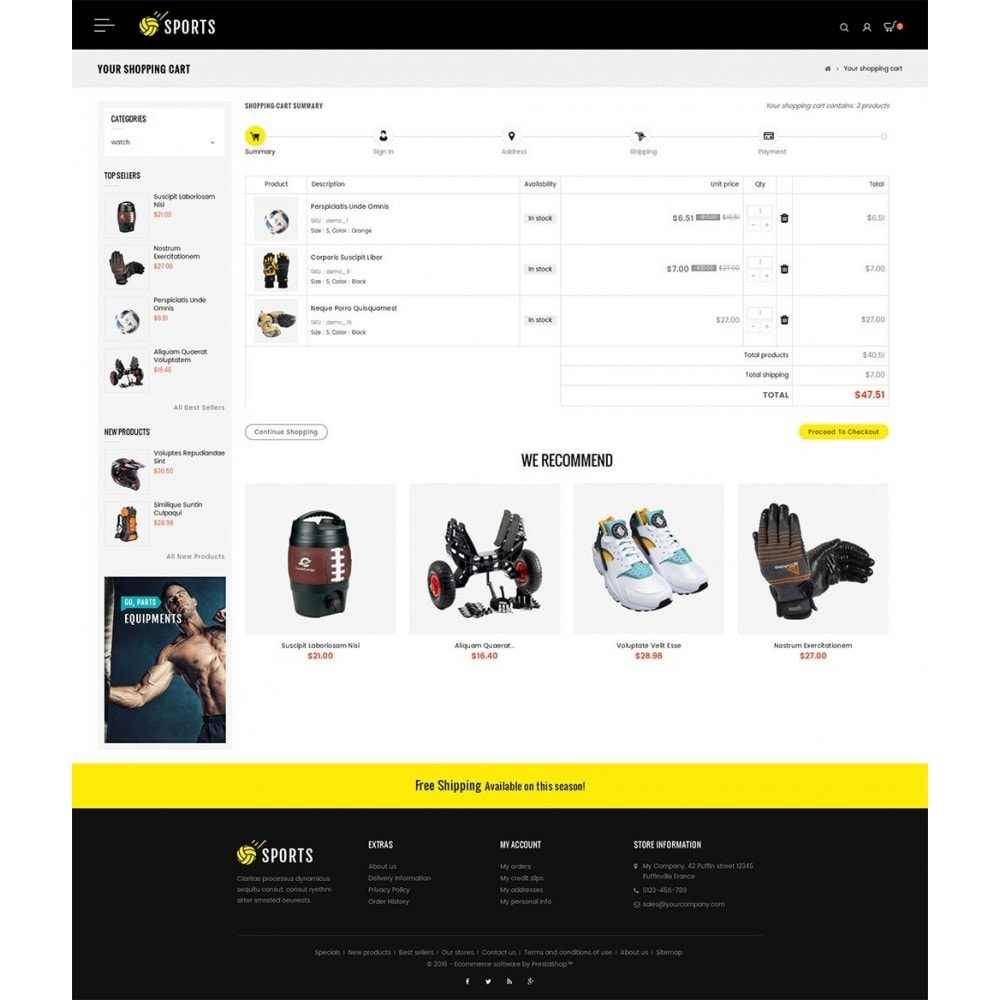 theme - Sport, Activiteiten & Reizen - Sports Store - 6